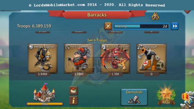 #453 All Devices Account 561M II 276M Research II Good War & Hunter Gear II Rss Too Much II 499$