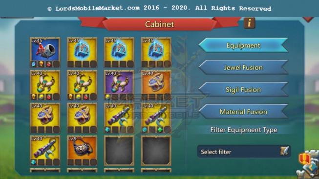 #456 All Devices Account 420M II 209M Research II 4M6 Troop II 139K Holy Stars II 147K Gems II 299$