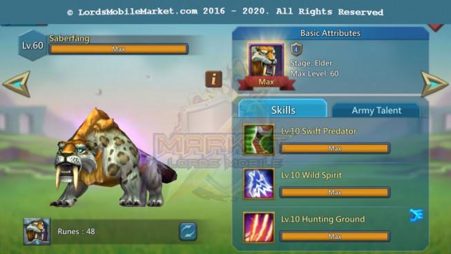 464 All Devices T5 Account 966M II Gear Perfect II 424M Research II 20M Troop II Castle Skin II 1000$
