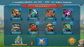 #483 All Devices Account 265M – 122M Reseearch – 3M Troop – 90K Gems – 169$