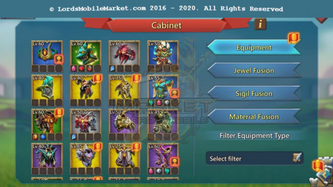 498 All Devices Account 391M – 213M Research – 294K Gems – 13 Migration Scroll – 295K Holy Stars – 249$