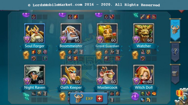 #515 All Devices Account 274M – 129M Research – 2M8 Troop – 200K Gems – 5 Migrations Scroll – 139$