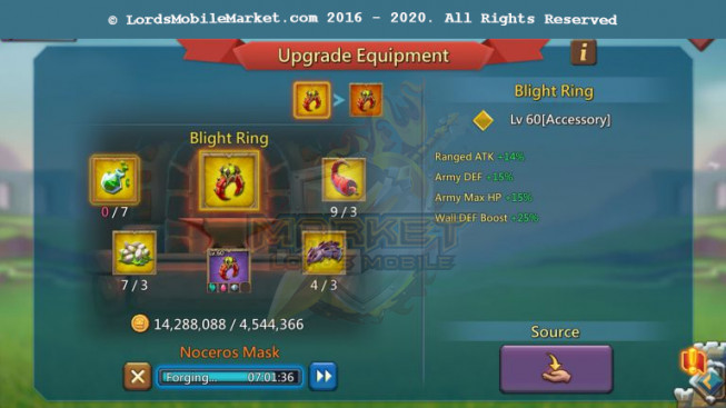#516 All Devices Account 537M – 231M Research – 14M9 Troop – 315K Gems – 101K Holy Stars – 349$