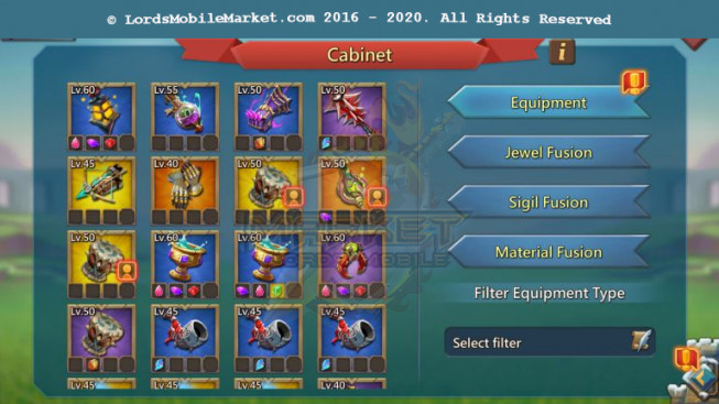 #520 All Devices Account 417M – Good War Gear – 197M Research – Too Much Rss – 220$