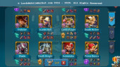 #521 All Devices Account 816M – 322M Research – Castle Skin SS Wyvern – 17M Troop – Good War & Hunter Gear – 589$