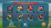#526 All Devices Account 488M – 111K Gem – 202M Research – Castle Skin SS Wyvern – 260$