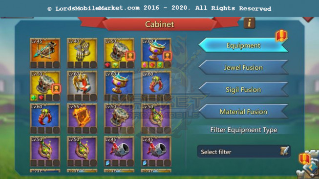 #527 All Devices Account 821M – 350M Research – 551K Gems – Watcher Gold – Research T5 Good – 28 MS – 500$