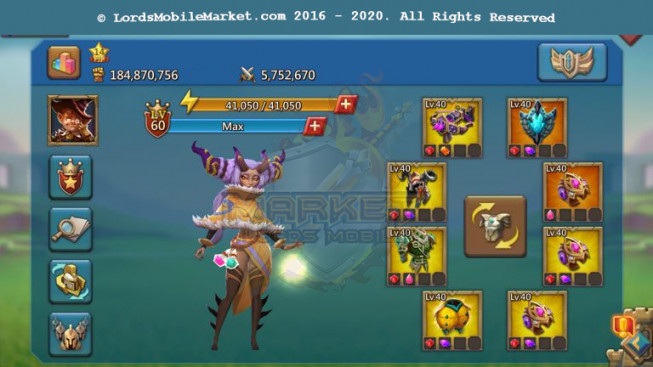 512 All Devices Account 184M – 149K Gems – Alots Of Items – 2 Migrations Scroll – 99$