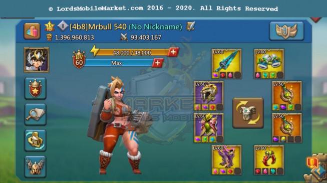 540 Leader Mini 1B396M – P2p Heros Alots – 14 Migrations Scroll – Maxed Familiar 4 + 5 – 1099$