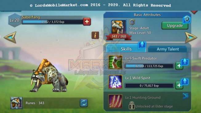 544 All Devicesa Account 435M – 253M Research – 4M Troop – 283K Gems – 299$