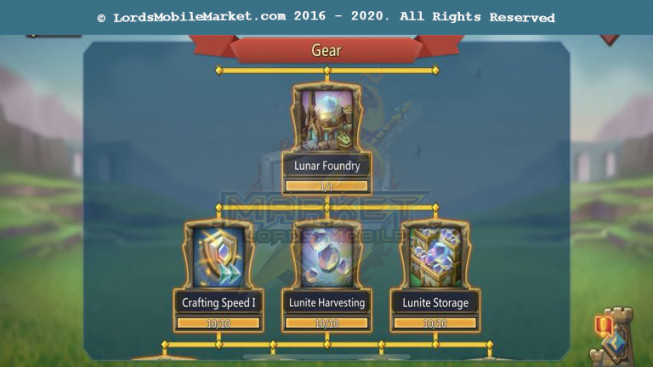 [ Super Sale Off ] 546 All Devices Account 522M – 206M Research – 15M Troop – Perfect War & Hunter Gear – 409$