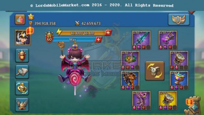 [ Super Sale Off ] 554 Account 394M – 181M Research – 125K Gems – Alots Rss + Items – 249$