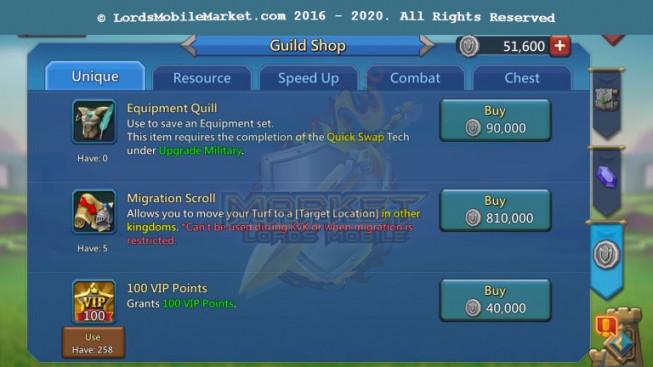[ Super Sale Off ] 560 – Account 889M – 373M Research – 288K Gems – Watcher Gold – 449$