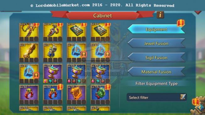 [ Super Sale Off ] 572 – T5 Leader Account 1B2 – 146K Gems – War & Hunter Gear Perfect -500M Research – 34 Migrations Scroll – 1149$