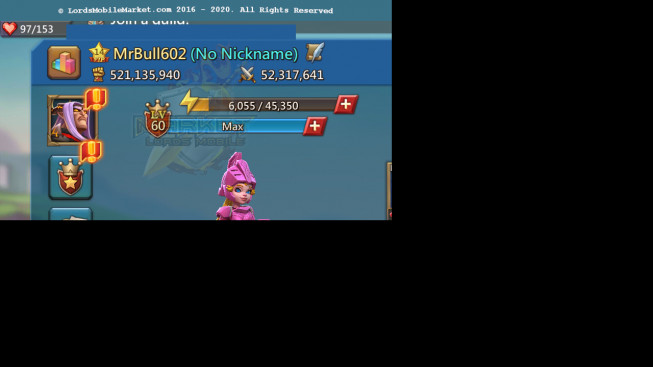 #602 521M ( 0MS King dom 75 )No Gift/ Pact 4