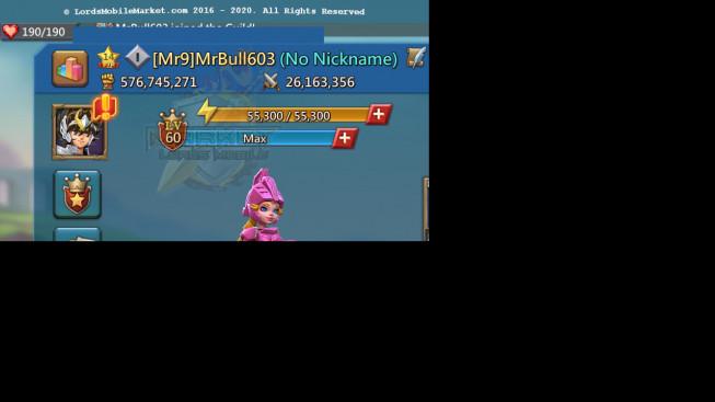 #603 576M ( 4MS Kingdom 690 , 935M Food , 1,5B Stone , 500M Wood , 369M Ore , 500M Gold )