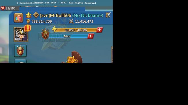 #606 788M ( 1MS Kingdom 243 , 550M Stone , 745M Wood , 512M Ore , 722M Gold )